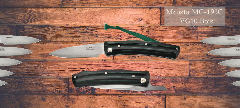 Couteaux japonais pliant Mcusta MC 193C