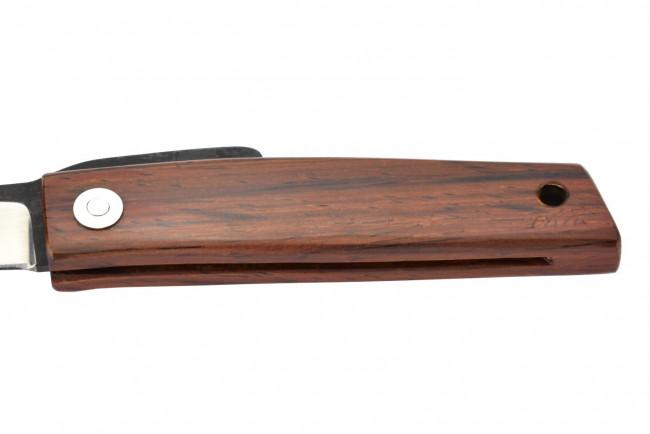Ohta OFF FK5 - Lame acier D2, manche en bois de cocobolo