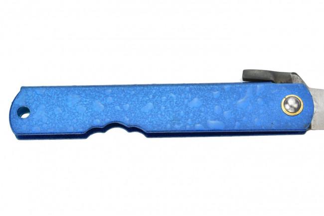 Higonokami HIGO WBL Water Blue - Lame acier San Mai