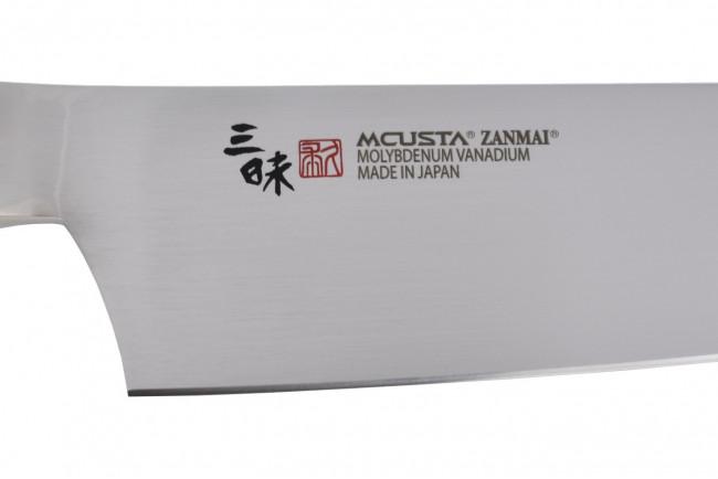 Mcusta HKB3004M - Classic Molybdenum Gyuto 180mm