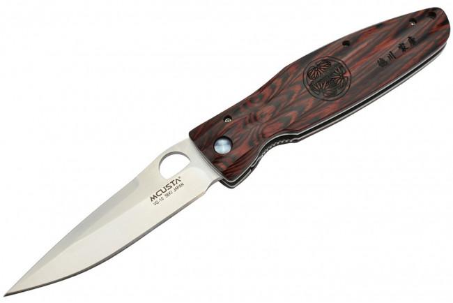 Mcusta MC-183 Shogun VG10 Pakka Wood rouge