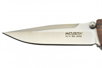 Mcusta MC-18V  - Lame VG-10 - Manche Ironwood