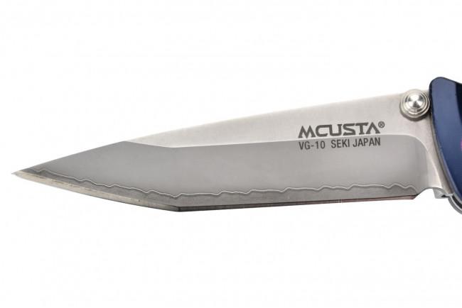 Mcusta MC-43C Katana - Aluminium bleu violet VG10 Clad