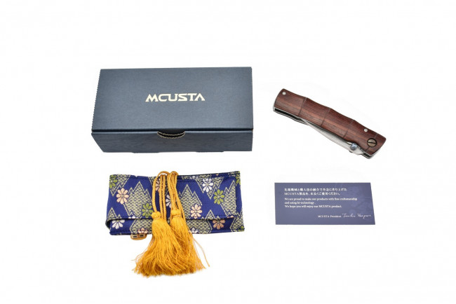 Mcusta MC-74DR Take - Rosewood Damas