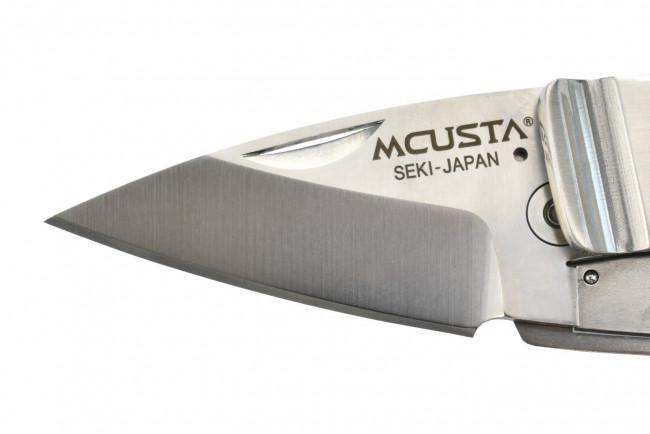 Mcusta MC-81 Kamon Aoi Crest Money Clip - Acier AUS8