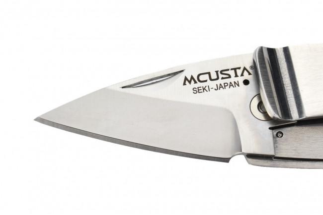 Mcusta MC-82 Kamon Kikio Crest Money Clip - Acier AUS8