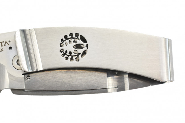 Mcusta MC-84 Kamon Fuji Crest Money Clip - Acier AUS8