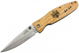 Mcusta MC-182D Damas Pakka Wood jaune