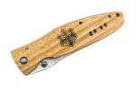 Mcusta MC-182D Damas Pakka Wood jaune