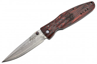 Mcusta MC-183D Damas Pakka Wood rouge